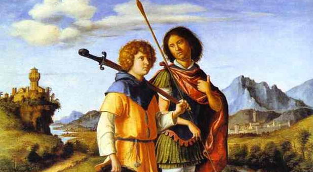 Prieteni, David, Ionatan