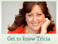 Tricia Goyer - imagine preluată de pe www.triciagoyer.com